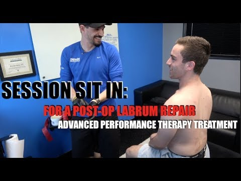 SESSION SIT IN: POST-OP LABRUM REPAIR
