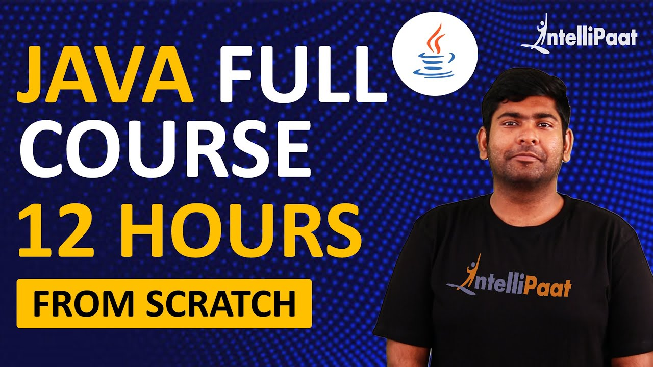 Java Tutorial for Beginners | Java Programming | Intellipaat