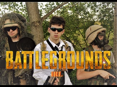 PlayerUnknown's Battlegrounds In Real Life