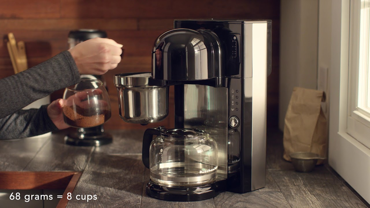 Presenting The Pour Over Coffee Brewer Kitchenaid Youtube