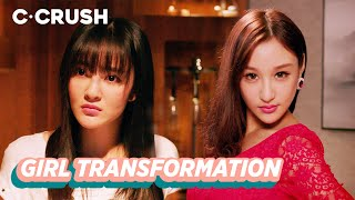 When A Poor Girl Suddenly Transforms Into A Total Hottie | 现代版丑小鸭变天鹅 | Turn Around