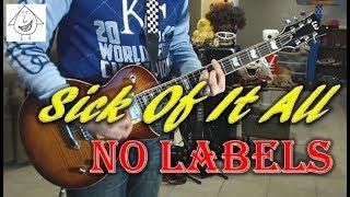 Sick Of It All - No Labels - Punk Guitar Cover (guitar tab in description!)