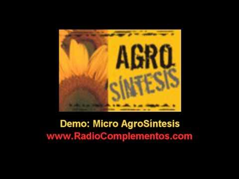 Radio Complementos  - Demo Micro AgroSíntesis para Radios