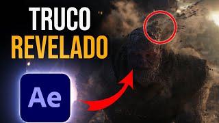 Avengers Infinity War Thanos Disintegration Effect | After Effects Tutorial