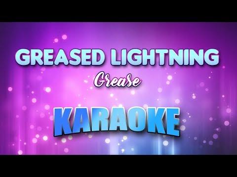Greased Lightning - Grease (Karaoke version with Lyrics)