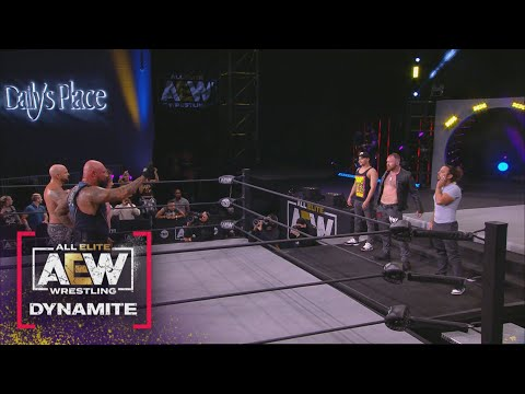What Happened at the End of the Kenny Omega/Good Brothers Trios Match? | AEW Dynamite, 3/31/21