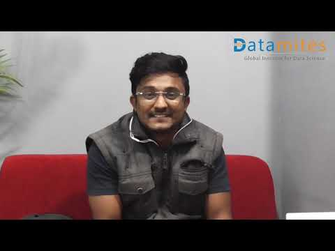 Mr. Arun Feedback on Data Science Course in Bangalore - DataMites