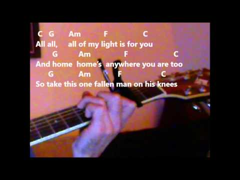 How To Play 'Forgive Me' By Missy Higgins On The Guitar
