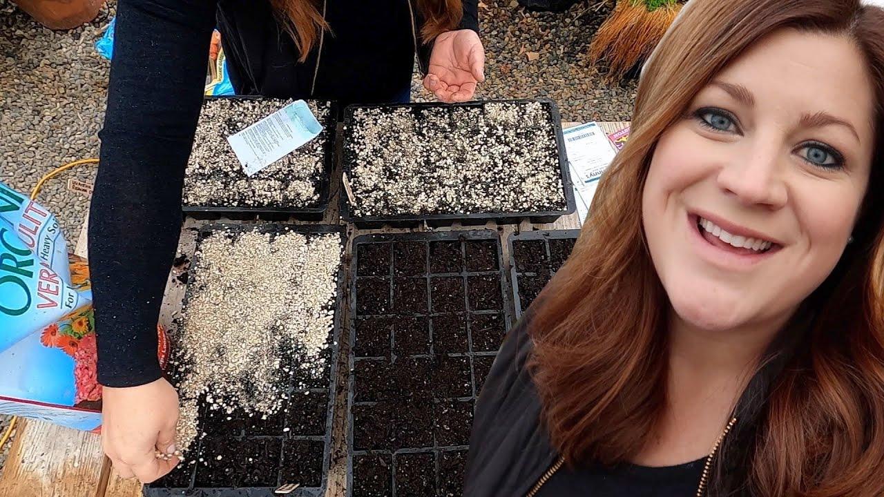 Cut Flower Garden Seed Starting Begins + How I Organize When to Start Seeds! 🌿💚 // Garden Answer
