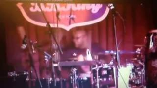 Stacey Lamont Sydnor Drum Solo w/ Mandrill in NYC!