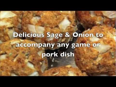 How To Make Sage & Onion Stuffing, Suitable For Vegetarians