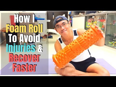 HOW I FOAM ROLL TO AVOID INJURIES & Recover Faster   Foam Rolling Demonstration