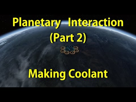 Planet Interaction - Part 2 - Producing Coolant!