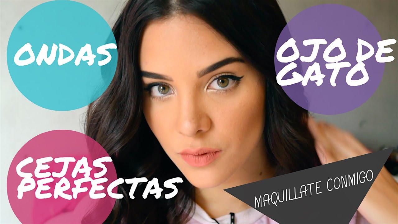 Maquillaje para fiesta sencillo + Peinado♥ (FÁCIL) - Domingos de Sheryl