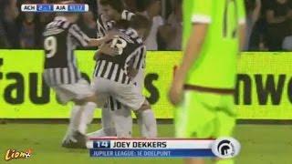 Video Achilles vs Jong Ajax 2-1 ALL GOALS & HIGHLIGHTS 07/08/2015 download MP3, 3GP, MP4, WEBM, AVI, FLV Desember 2017