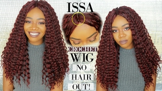 diy crochet wig w a natural part   no hair out   motowntress new angels braid collection deep wave
