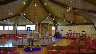 May 16, 2021 Seventh Sunday of Easter 10 AM ET worship service at Grace Lutheran Church, Mendham NJ