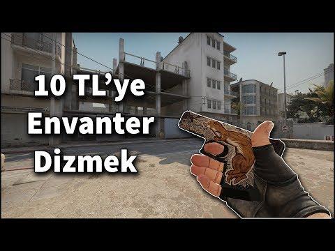 10 TL ile Envanter Dizmek [CS:GO]