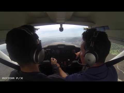 Ishkhan Hunanyan Discovery Airplane flight lesson at ROTOR F/X on October 27th, 2016