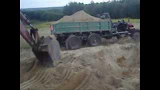 Wynalazek 6x6 Wehikuł ciągnik sam samoróbka traktor Uaz 4x4 OFF-ROAD Krowica