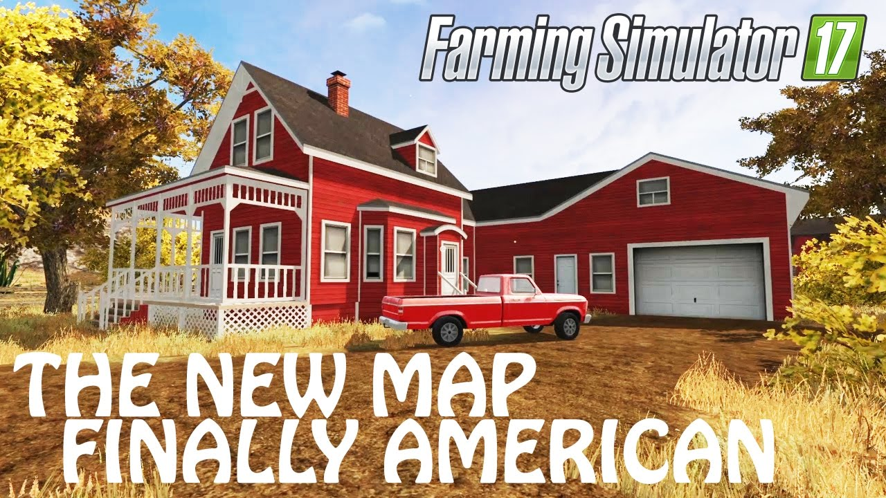 THE NEW MAP AMERICAN OUTBACK in Farming Simulator 2017