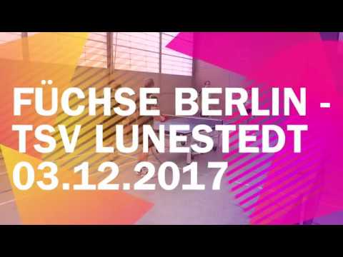 Füchse Berlin - TSV Lunestedt | So. 03.12.2017 - Regionalliga Nord 2017/2018