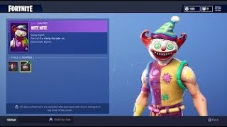 NEW CLOWN SKINS IN FORTNITE! Fortnite Battle Royale Item Shop September 23