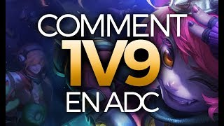 COMMENT 1V9 UNE GAME EN ADC - Tristana ADC Ranked Challenger
