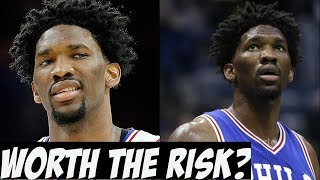 Is joel embiid worth his massive contract? nba 2018