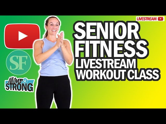 Strength Training Workout For Seniors With Dumbbells | Livestream Class