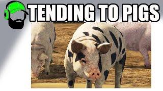 Farming Simulator 17 - Tending to animals - Pigs