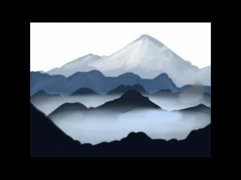 Mounatin Landscape Digital