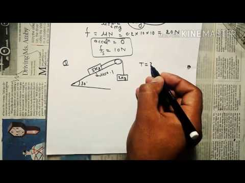 how to calculate friction force in hindi