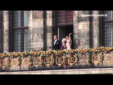 Amsterdam - Beatrix, Willem-Alexander und Máxima - Netherlands HD Travel Channel