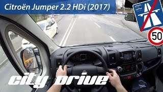 Citroën Jumper 2.2 HDi (2017) - POV City Drive