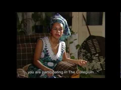THE COLLEGIUM Forum & Television Program Berlin Germany-Mona Agbaje- Swaziland
