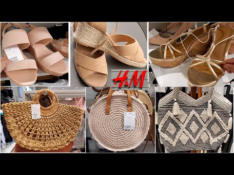 🔥😱H&M BAGS AND SHOES | NEW STYLES | NEW ARRIVALS  | LADIES COLLECTIONS JULY 2019