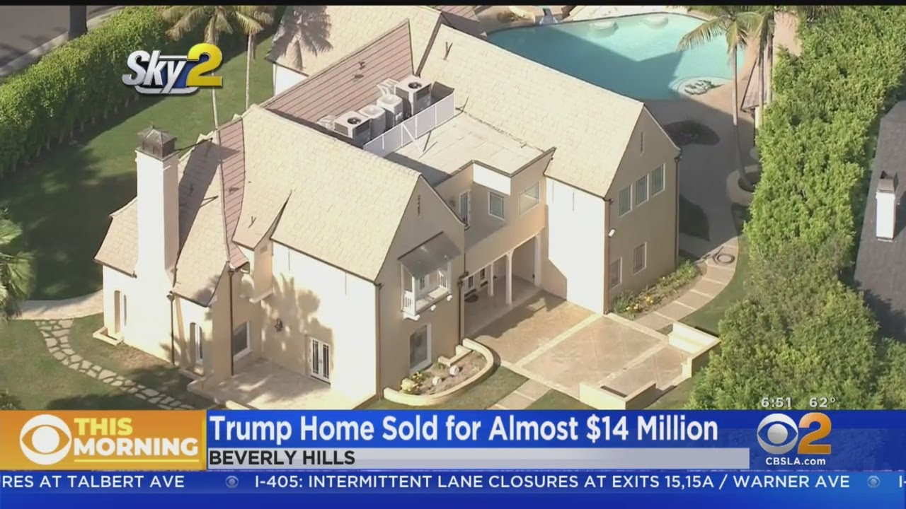 President Trump's Beverly Hills Mansion Sold Quietly For $14 Million