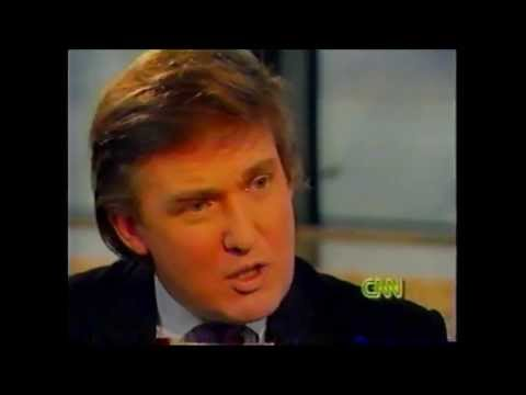 Donald Trump - Discussing Divorce @ The Larry King Show 1990
