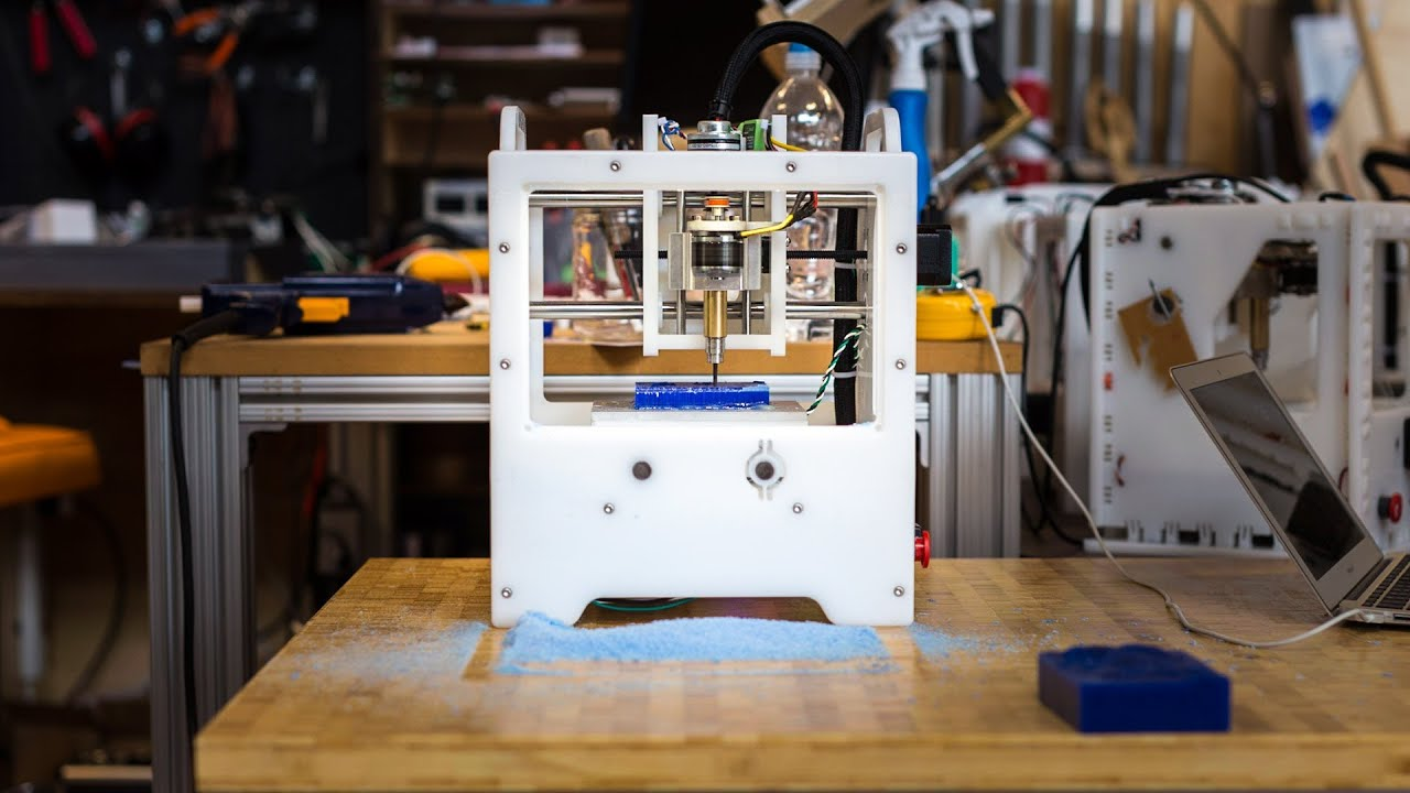 Meet Othermill A Desktop Cnc Milling Machine Youtube