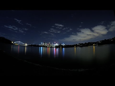 GoPro: City Lights & Waterside Night Lapse + SETTINGS
