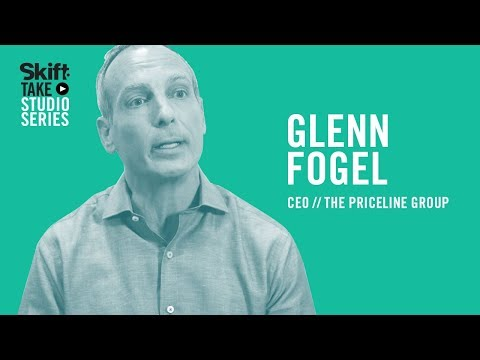 Priceline Group's CEO Glenn Fogel at Skift Take Studio - YouTube