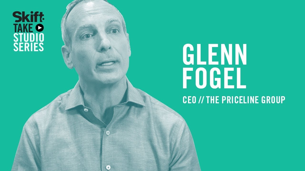 Priceline Group\'s CEO Glenn Fogel at Skift Take Studio - YouTube