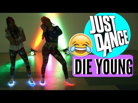 JUST DANCE DIE YOUNG KESHA l HolaMery ft A bailar con Maga!