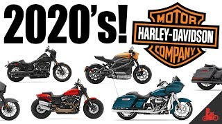 New 2020 harley-davidson lineup announced! softail low rider s, colors, cvo's and more! i'm giving away a harley! join at:❱ https://www.patr...