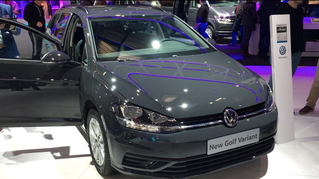 Volkswagen Golf Variant 2017 In Detail Review Walkaround Interior Exterior Youtube