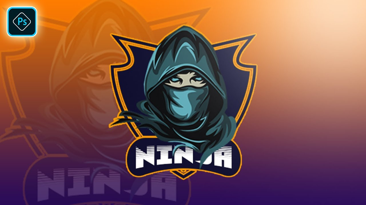 How To Make Gaming Logo In Photoshop CC 2021