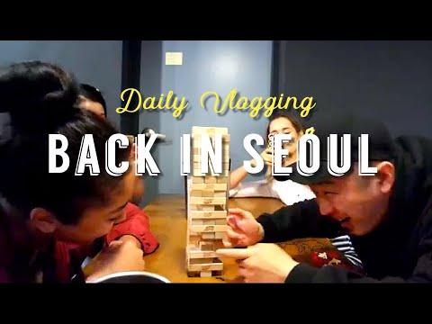 BACK IN SEOUL - Daily Vlogging #9 - sofiatintin