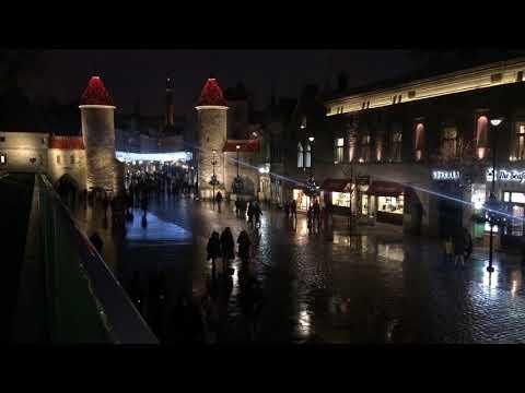 Christmas time in Tallinn, Estonia/ Рождественский Таллинн Эстония 2017