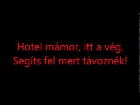 Hooligans - Hotel mámor (lyrics) HD mp3 download